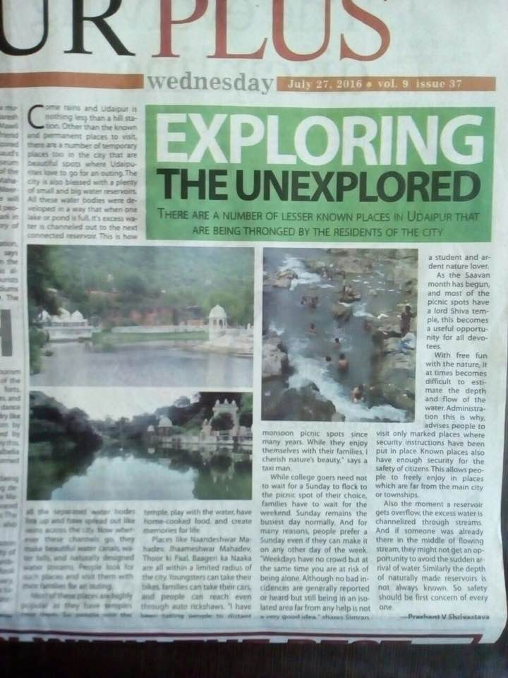 Written by Prashant V Shrivastava and published in The Times of India